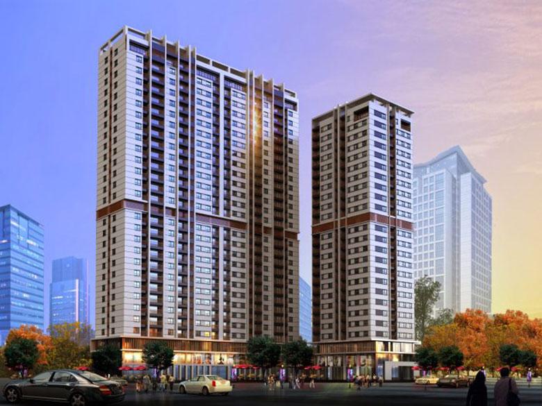 Phối cảnh tổng thể căn hộ sonata residences