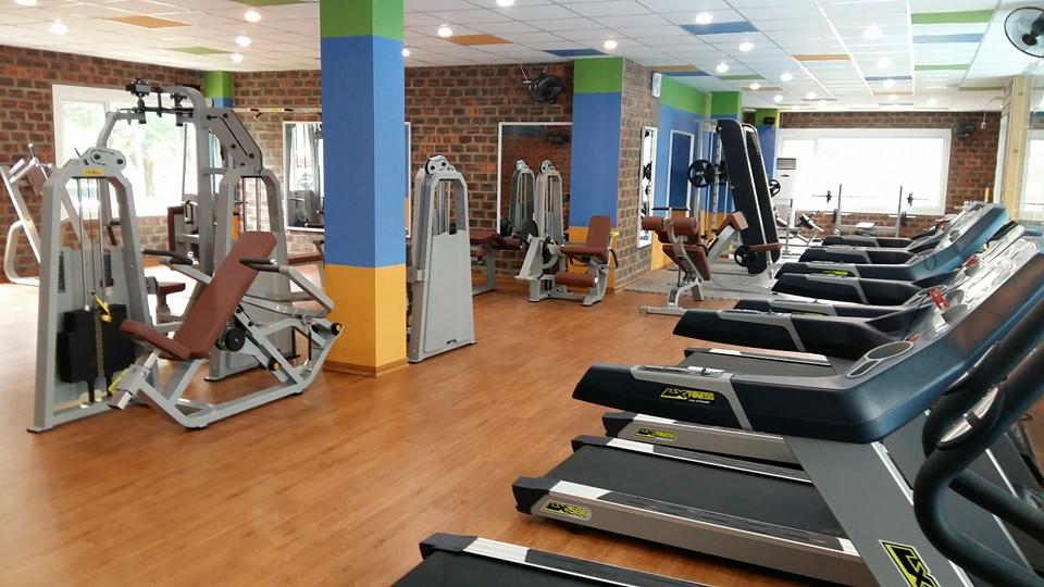 Căn hộ Sonata Residences Hưng Thịnh trang bị phòng tập Gym hiện đại