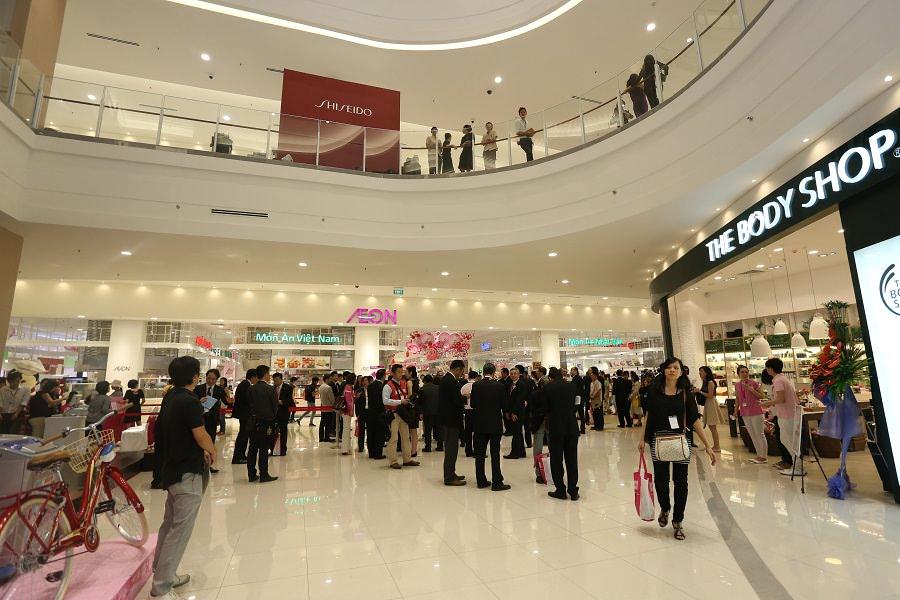 Dự án Sonata residences liền kề siêu thị Aeon Mall  tập đoàn bán lẻ hàng đầu Nhật Bản