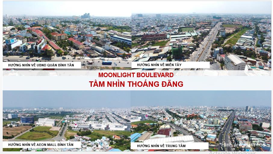 View Từ dự án Moonlight Boulevard