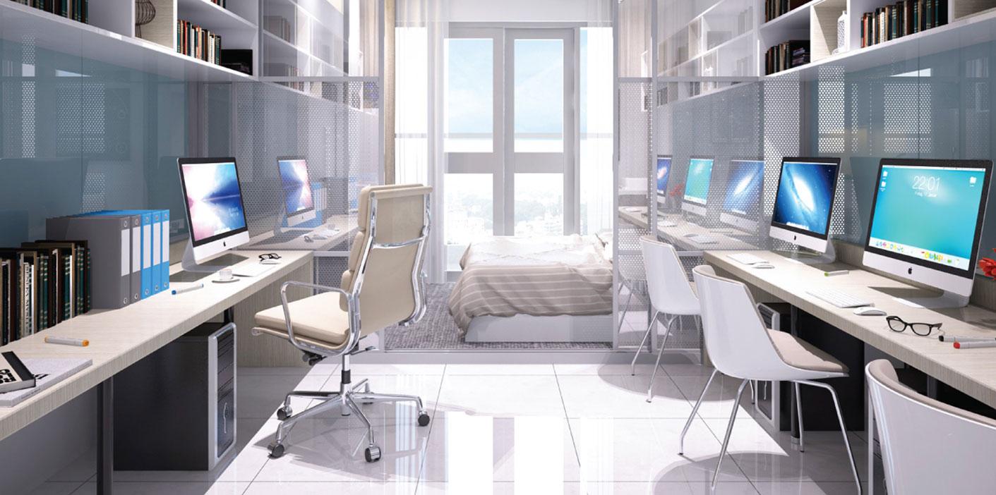 Nhận diện cơ hội đầu tư căn hộ văn phòng giá rẻ