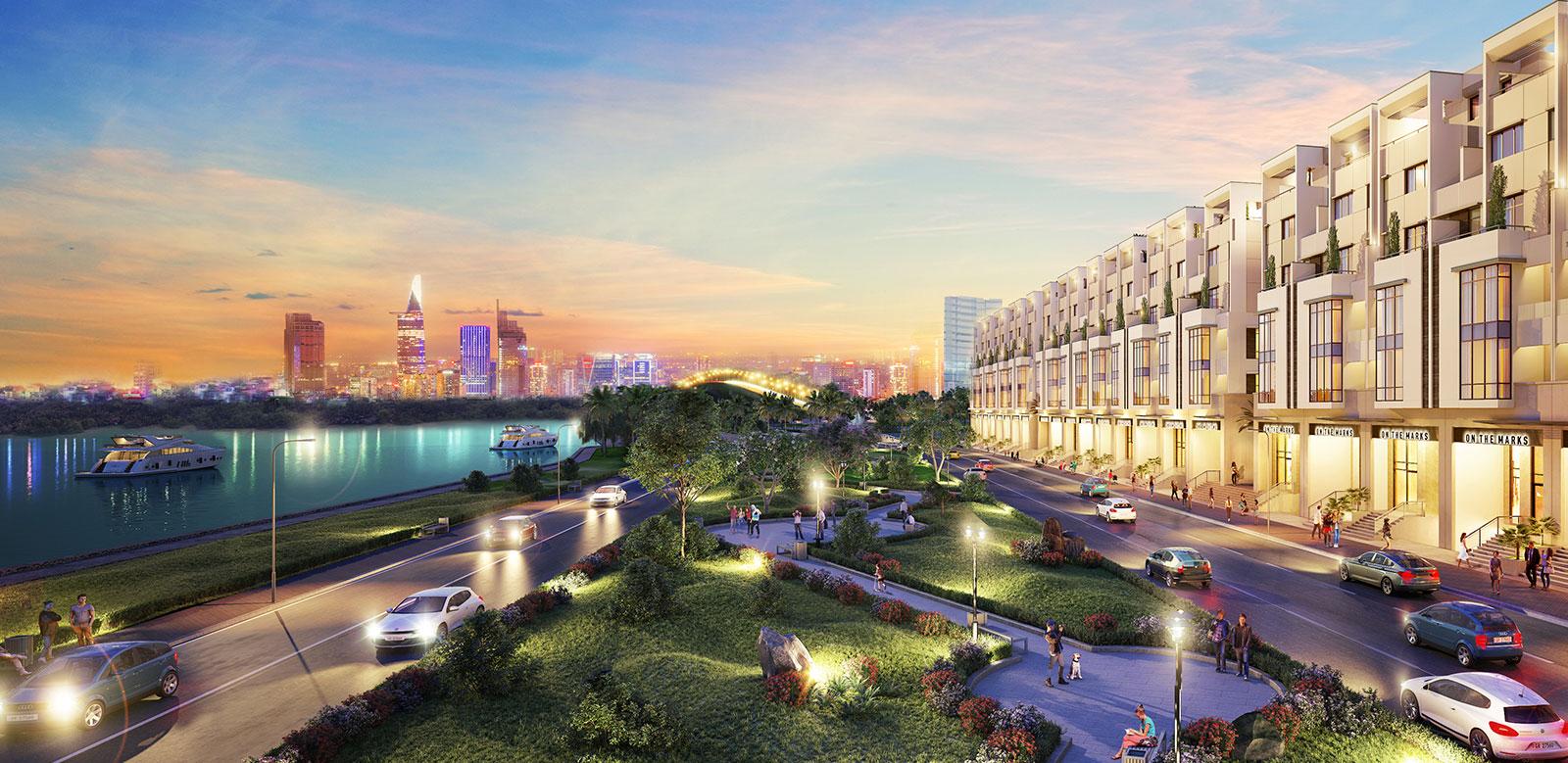 Khu thương mại ven sông Saigon Mystery Villas Quận 2 Hưng Thịnh