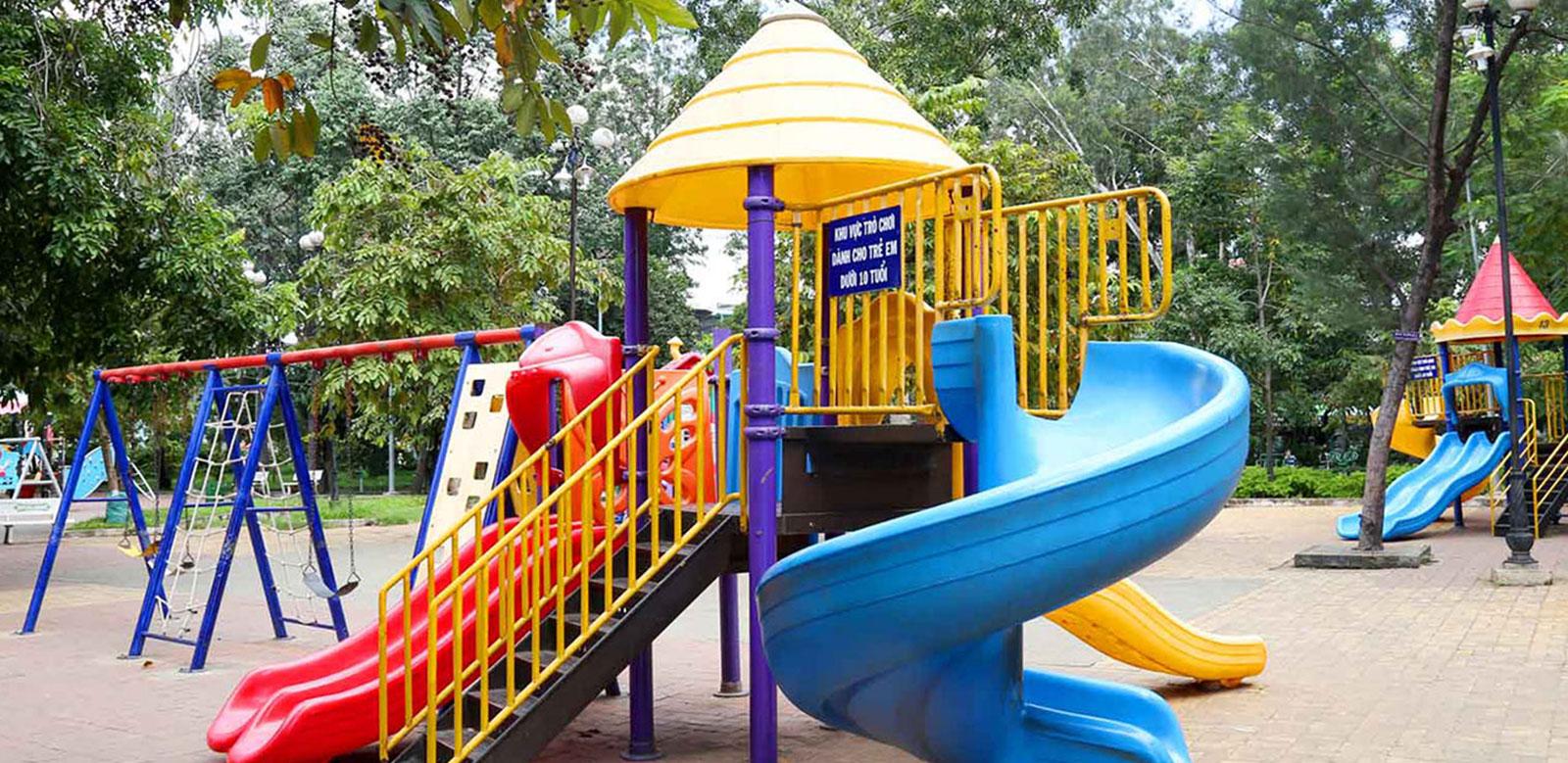 Khu vui chơi trẻ em Saigon Mystery Vllas Hưng Thịnh