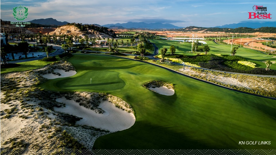 Phối cảnh sân golf KN Golf Links 27 lỗ Cam Ranh