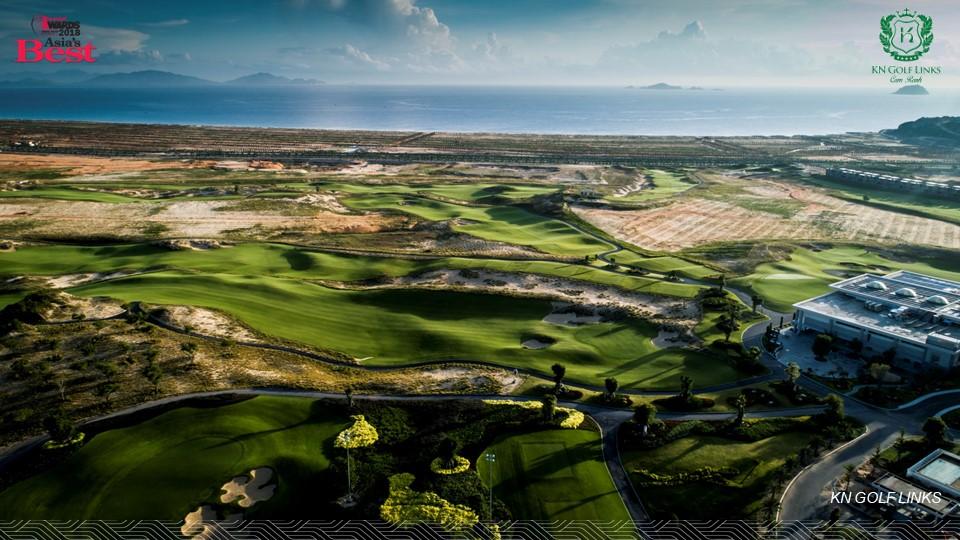 Sân Golf KN Links Cam Ranh 27 lỗ