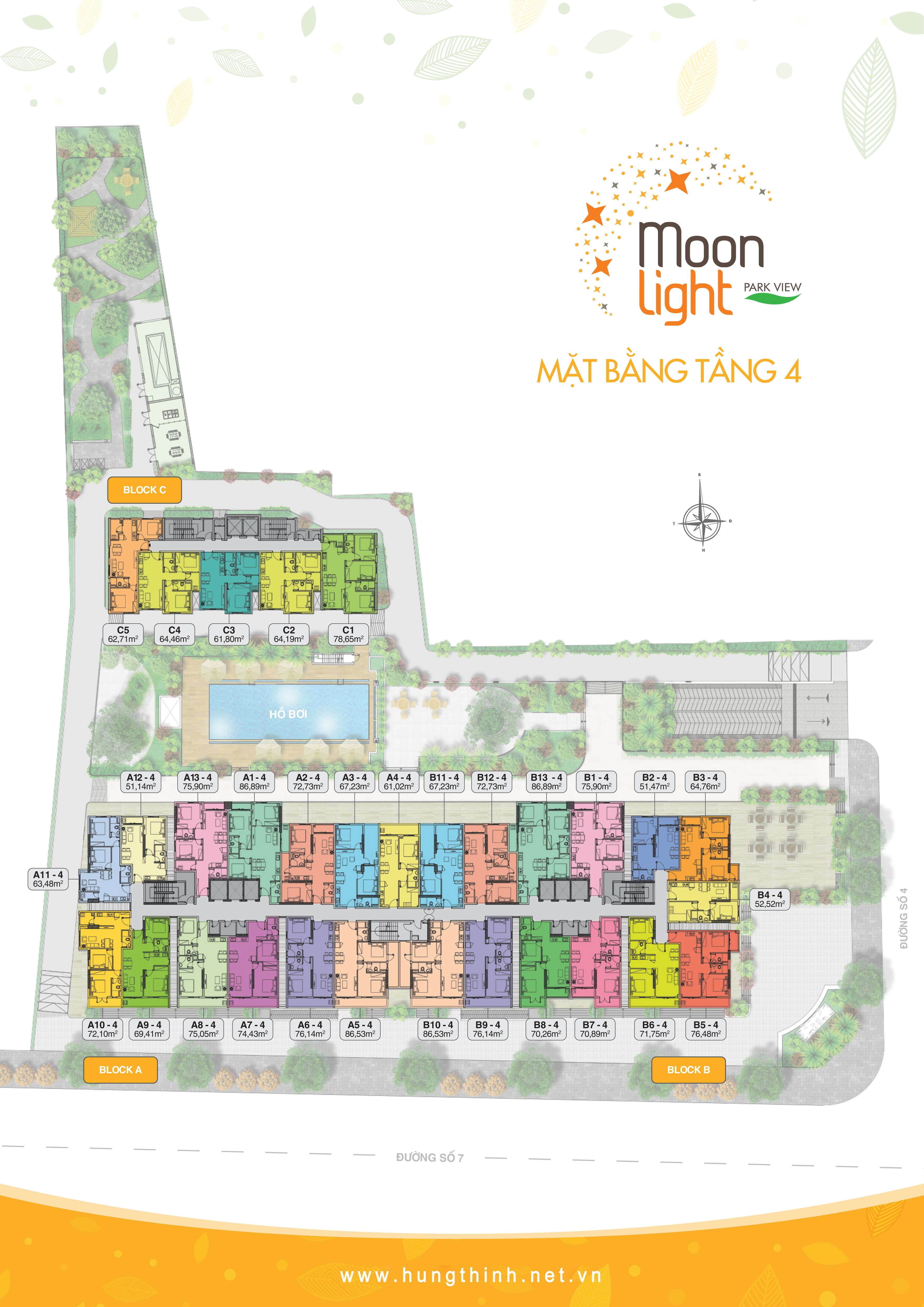Dự án Moonlight Park View tọa lạc tại đường số 7 và 4 quận Bình Tân do Hưng Thịnh làm chủ đầu tư, dự kiến sẽ được tung ta thị trường vào đầu quý 4/2016