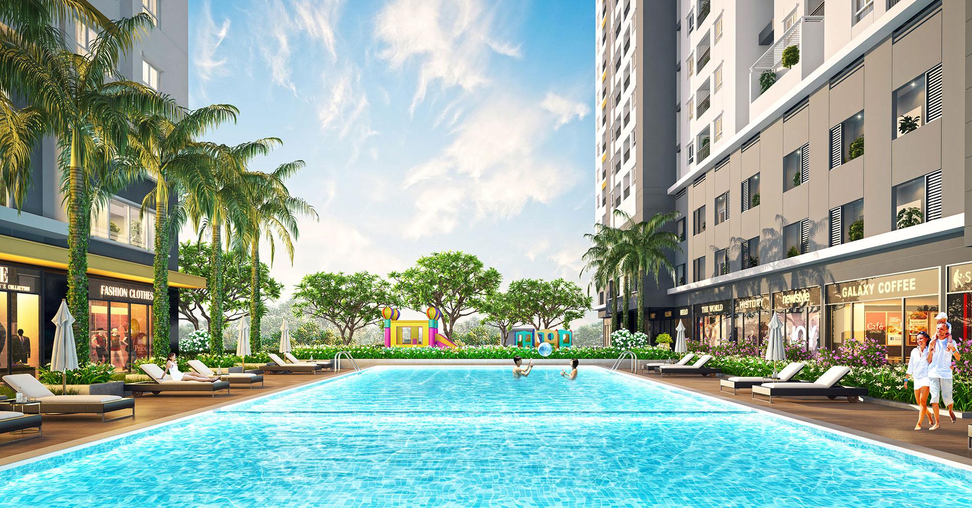 Dự án Căn hộ Moonlight Park View quận Bình Tân nằm trọn trong lòng đô thị khu Tây và thừa hưởng những tiện ích hàng đầu đẳng cấp