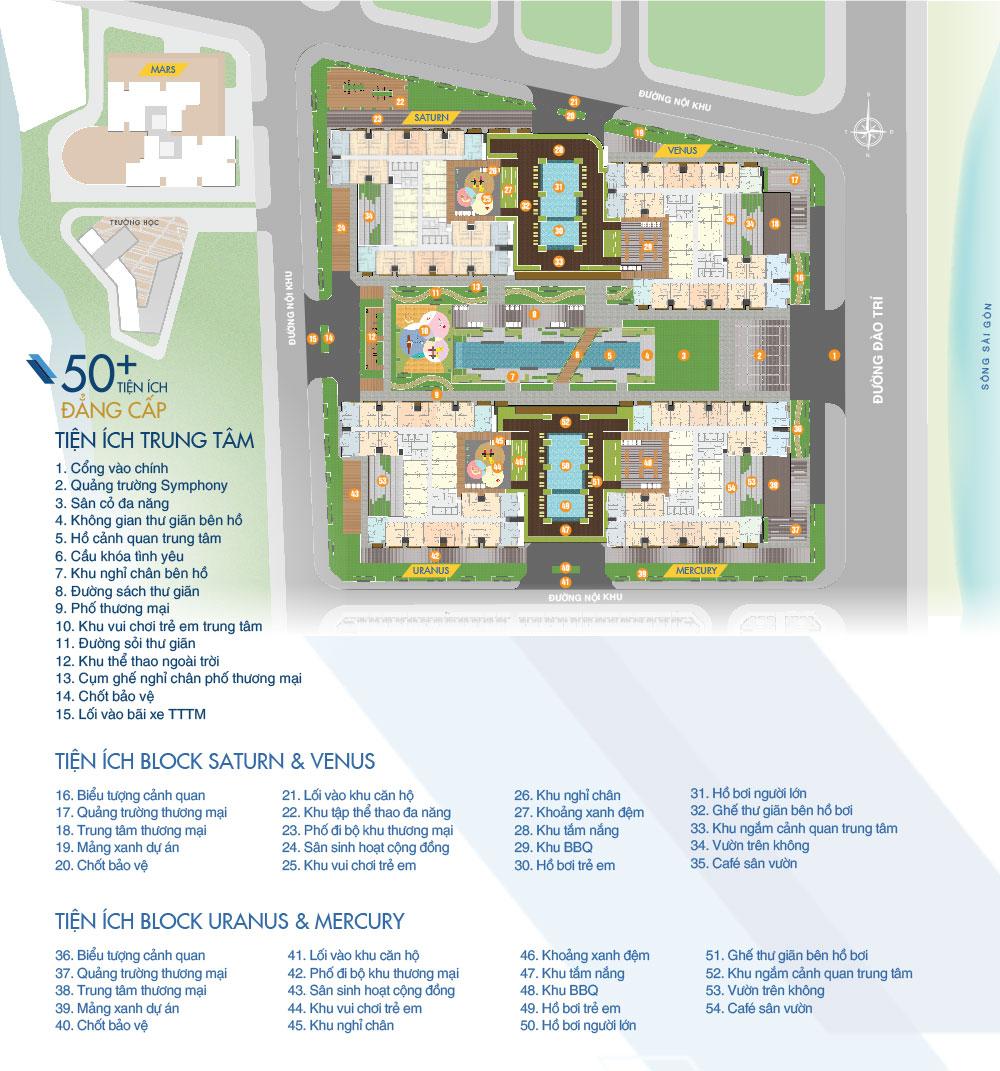 Tiện ích dự án Q7 Saigon Riverside Complex Hưng Thịnh
