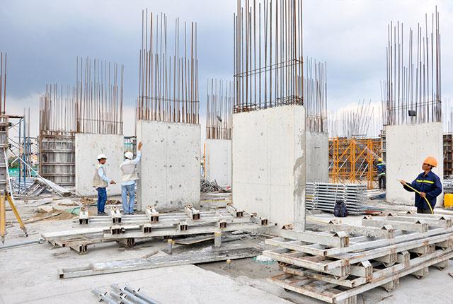 căn hộ 8x Rainbow được xây dựng trên nền đất hơn 5.000 m2, gồm 1 block cao 18 tầng, có 01 tầng hầm và 01 tầng thương mại
