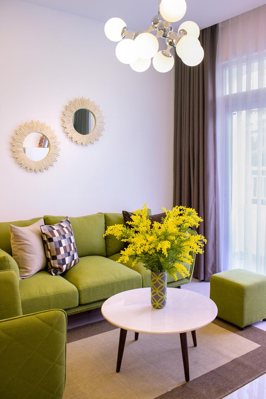 Đến với căn hộ Lavita Garden, bạn sẽ đắm chìm  trong không gian thơ mộng của một khu vườn  tràn đầy sức sống