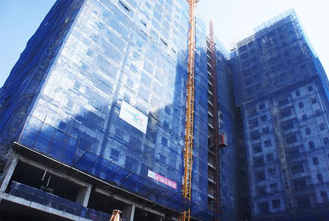 Tiếp tục hoàn thiện block A dự án căn hộ Melody Residences