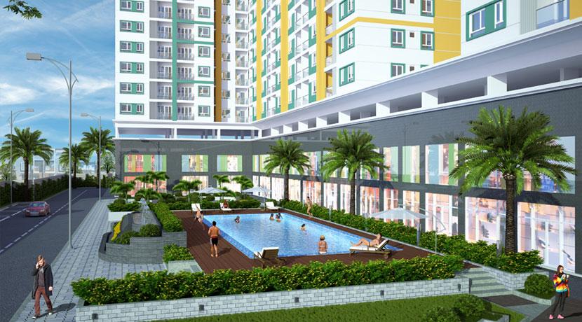 Sở hữu vị trí đẹp trong khu dân cư hiện hữu, Melody Residences tọa lạc ngay mặt tiền đường Âu Cơ – trục đường chính đến các quận Tân Bình, Q.10, Q.11, quận Phú Nhuận và Q.3