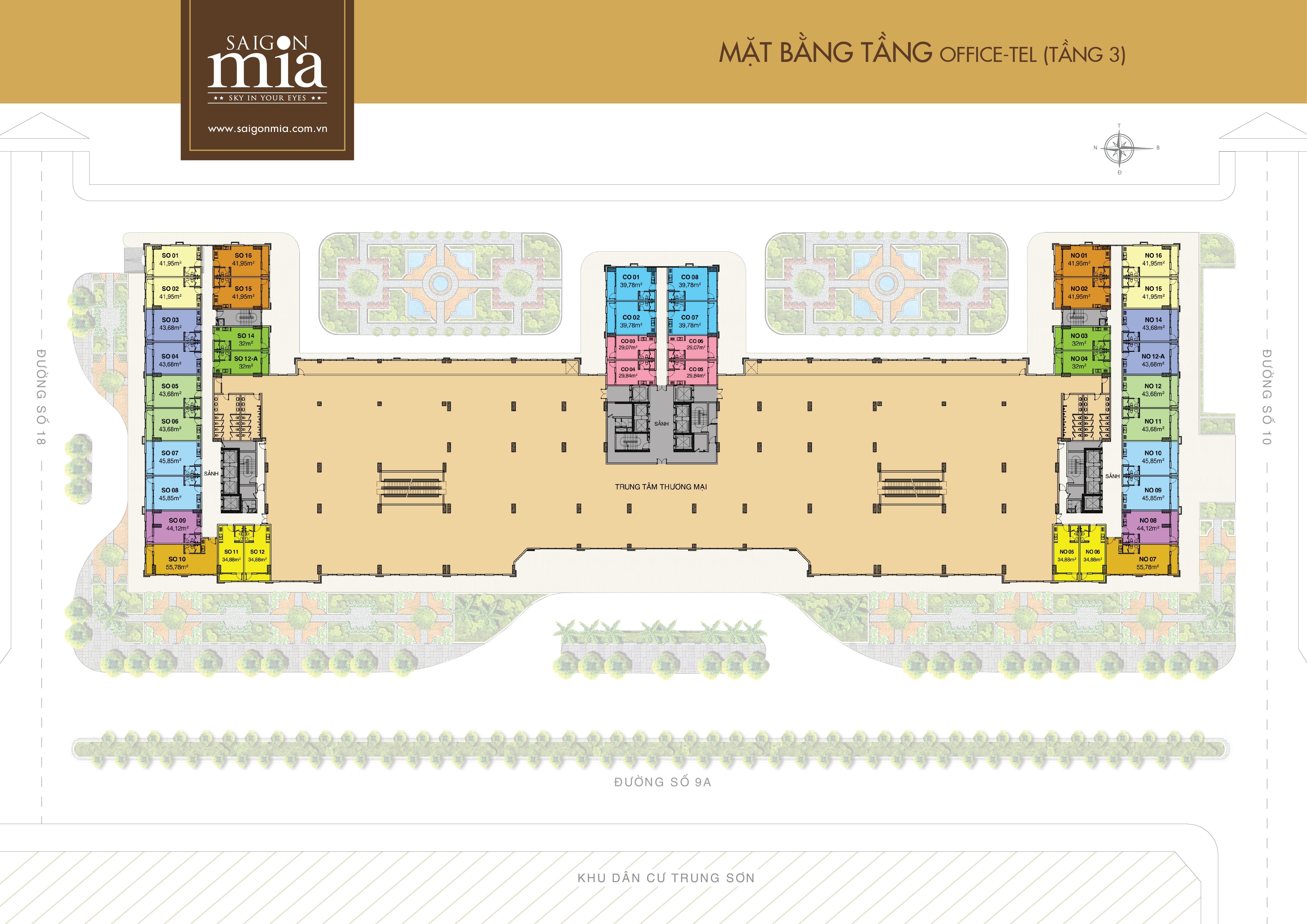 SAIGON MIA được thiết kế theo trường phái KIẾN TRÚC PHÁP tạo được sự hài hòa về kiến trúc, mỹ thuật, sang trọng cùng nhiều tiện ích hiện đại, mang đến cho cư dân không gian sống nghỉ dưỡng giữa lòng thành phố sôi động