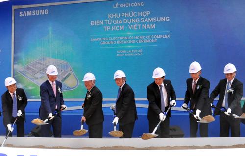 Tổ hợp nhà máy Samsung tại Hồ Chí Minh