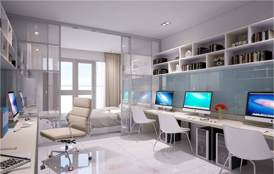 Mẫu officetel sky center
